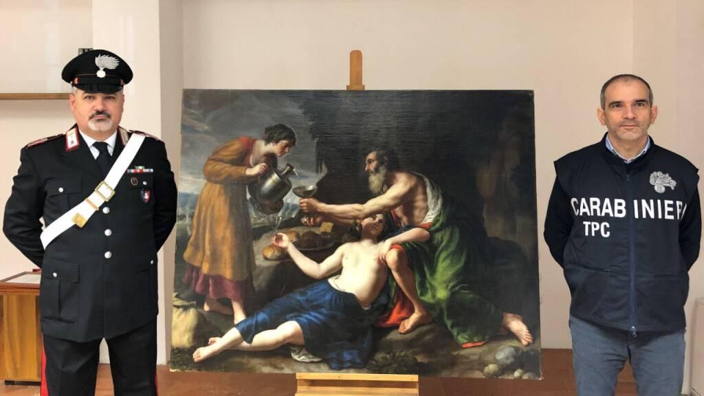 Italiens Carabinieri spürt von Nazis gestohlenes Gemälde auf