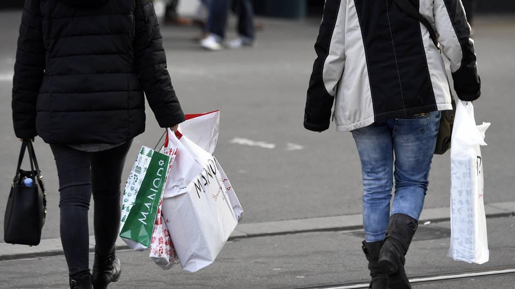 Wenn möglich, gehen die Schweizer auch am Sonntag gerne shoppen.