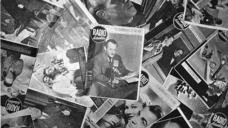 1947 sammelte die Glückskette 10 Tonnen Zeitschriften und Magazine zur Lektüre für Kranke und Ölsoldaten.