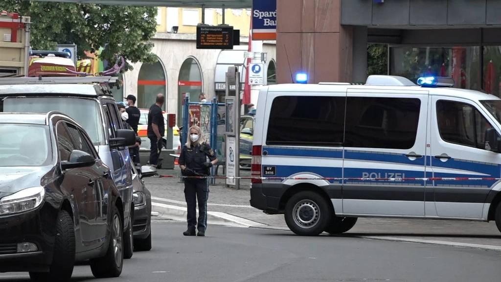 Drei Tote bei Messerattacke in Würzburg: Täter war in psychiatrischer Behandlung