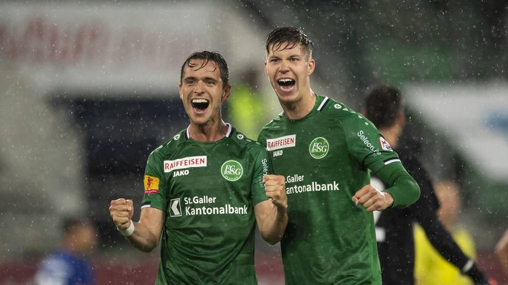Starke Leistung: Der FC St.Gallen ist zurück an der Spitze