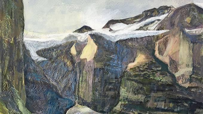 «Schwebender Gletscher» von Marianne Badertscher.