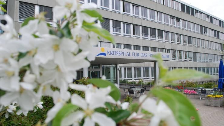 Liefert Daten jetzt elektronsich: Das Kreisspital Muri.