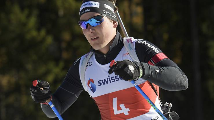 Joscha Burkhalter absolvierte in Ruhpolding sein erstes Rennen auf höchster Stufe