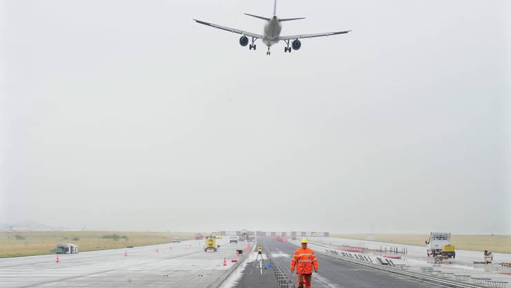 Bauarbeiten am EuroAirport