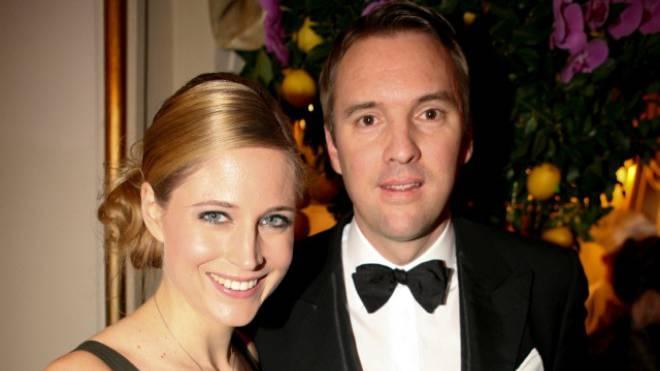 Ex-Miss Fiona Hefti mit Christian Wolfensberger. Foto: CATTANEO/fotoSwiss.com