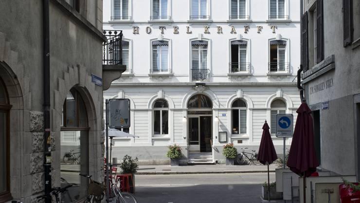 Im Zimmer 49 des Basler Hotel Krafft schrieb Hermann Hesse «Der Steppenwolf». (Archivbild)