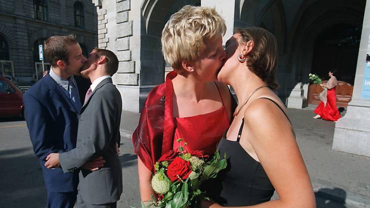 Die Ehe soll auch gleichgeschlechtlichen Paaren offen stehen.