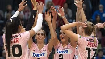 Das Schweizer Frauen-Volleyball ist im Vormarsch
