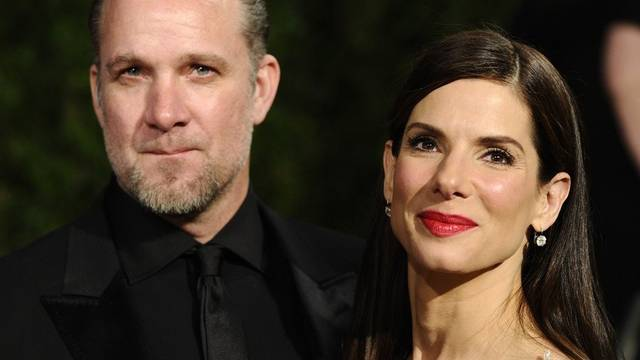 Sandra Bullock mit ihrem Ex-Mann Jesse James (Archiv)