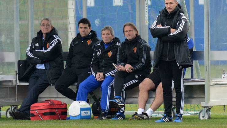 Der FCB-Trainerstaff um Thomas Häberli und Jörg Stiel sah einen relativ ungefährdeten Sieg der Gastgeber aus Basel.