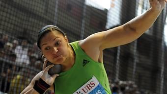 Valerie Adams (Neus) realisiert ihren 14. Sieg in Serie.