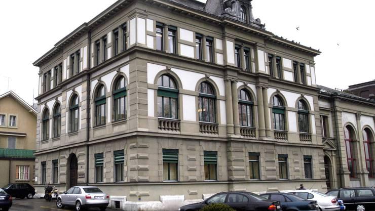 Vor dem Amtsgericht Olten-Gösgen findet die Verhandlung statt.