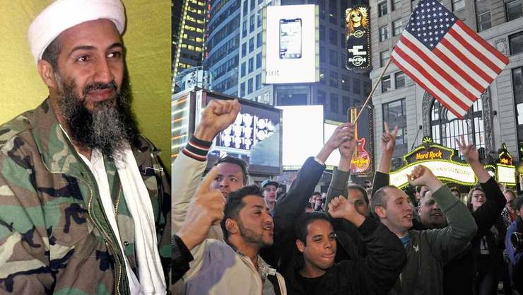 Bin Laden tot - Amerikaner jubeln