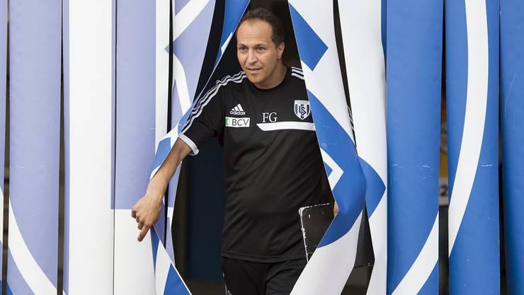 In Lausanne bietet sich Francesco Gabriele die Möglichkeit, den Grundstein für einen Chefposten in der höchsten Spielklasse zu legen.
