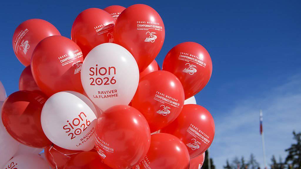 Im Walliser Kantonsparlament waren die Meinungen zur Kandidatur für die Olympischen Winterspiele 2026 geteilt.