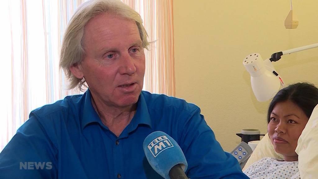 Ueli Anliker wird mit 61 Jahren erneut Papi