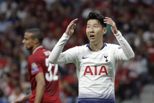 Der mit Abstand gefährlichste Mann von Tottenham an diesem 1. Juni in Madrid. Sehr wuslig, technisch ungemein beschlagen, aber macht letztlich zu wenig aus den Gelegenheiten, die sich ihm bieten.