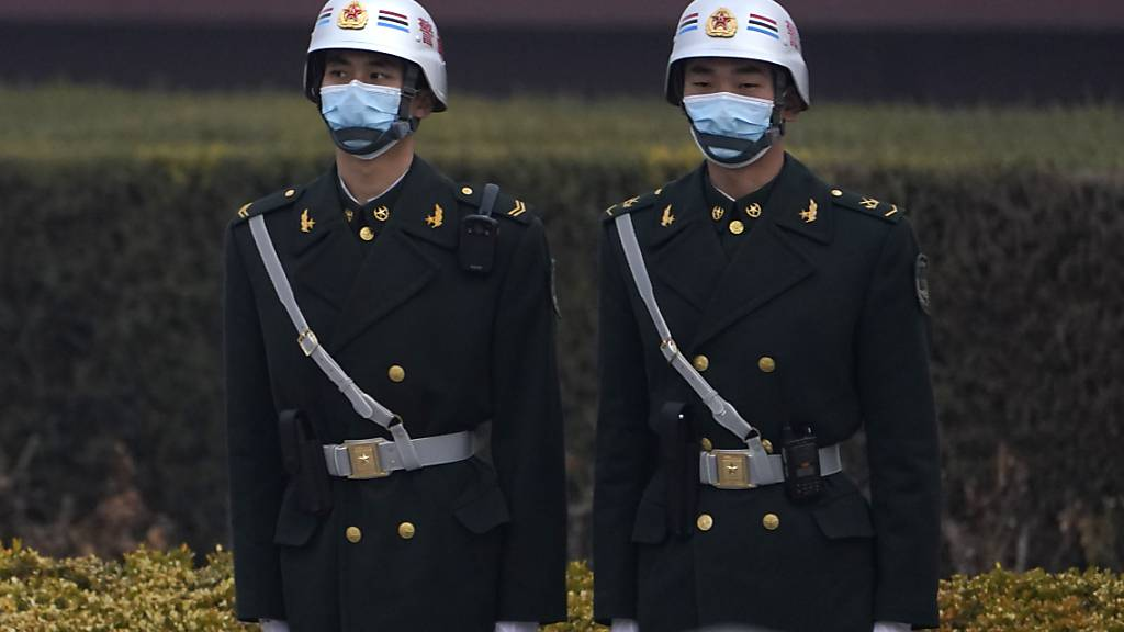 China will Militärhaushalt kräftig um 6,8 Prozent steigern