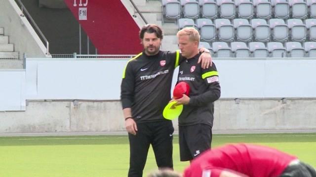 FC Thun: Erstes Training mit Sforza