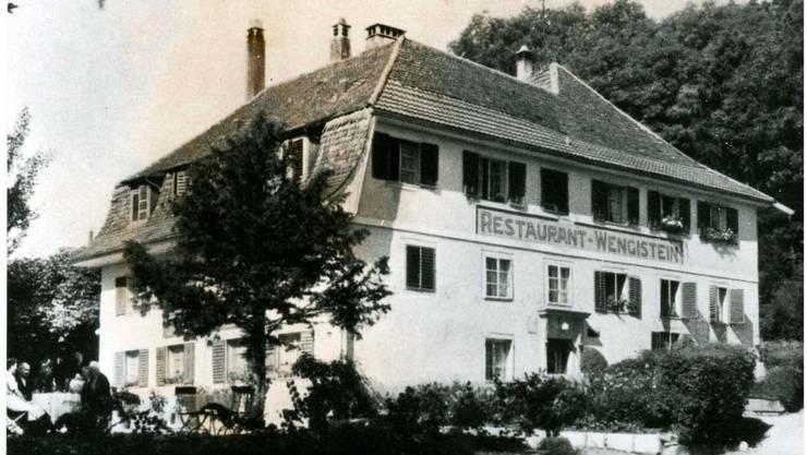 Sorgte für das Aha-Erlebnis: das verschwundene Restaurant Wengistein am Eingang der Einsiedelei.  zvg