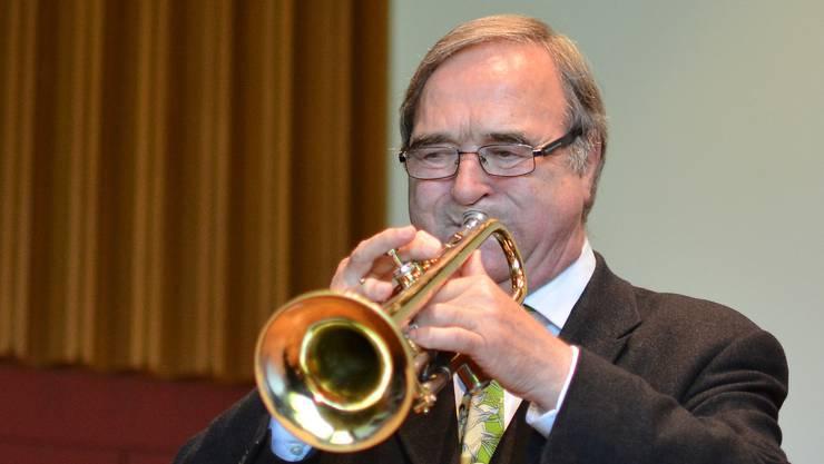 Dieter Studer begeisterte als Solo-Trompeter