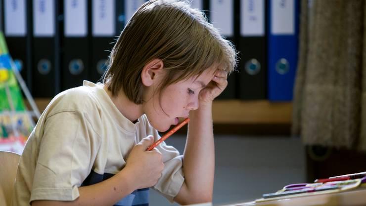 In der Mittelstufe entscheidet sich, ob man ans Gymi oder die Sek übertreten kann.  keystone