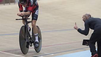 Rohan Dennis ist den Stundenweltrekord los