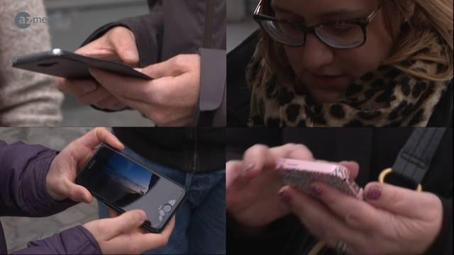 Lieblingsfoto: Passanten geben Einblick in ihr Smartphone