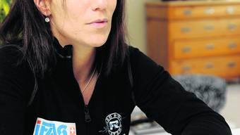 Teamplayerin: Zusammen mit dem Curlingteam Davos ergatterte Carmen Küng aus Feldbrunnen sechs internationale Medaillen. (Oliver Menge)