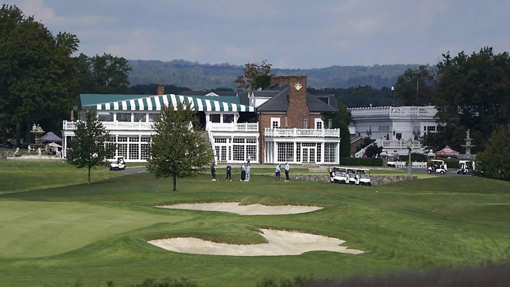 Der Trump National Golf Club in Bedminster ist 2022 doch nicht Gastgeber der PGA Championship.