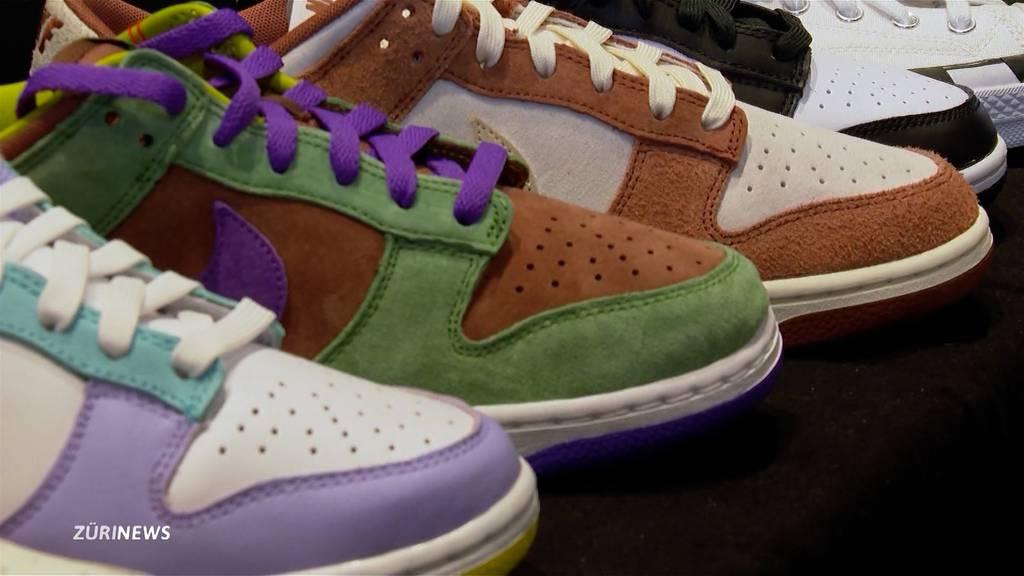 «Mehr als Schuhe»: 15'000-Franken-Schuh an Zürcher Sneaker-Messe