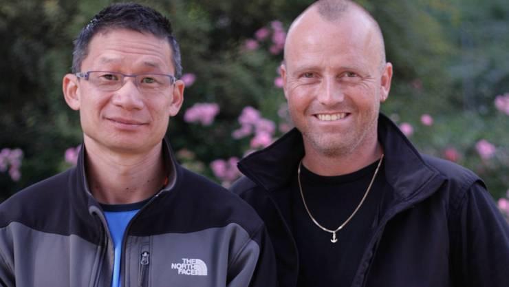 Nguyen van Hiep und Jörg Zimmermann (rechts) demissionierten gemeinsam - Zimmermann nicht ganz freiwillig – van Hiep aus Solidarität.