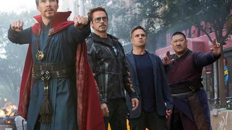 """Der Film """"Avengers: Infinity War"""" lockt viele Zuschauer in die Kinos."""