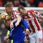(Abstiegs-)Kampf um jeden Ball: Stoke City wehrte sich gegen Everton vergeblich