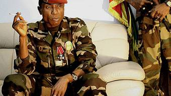 Demonstration gegen Oberst Moussa Camara (Archiv)