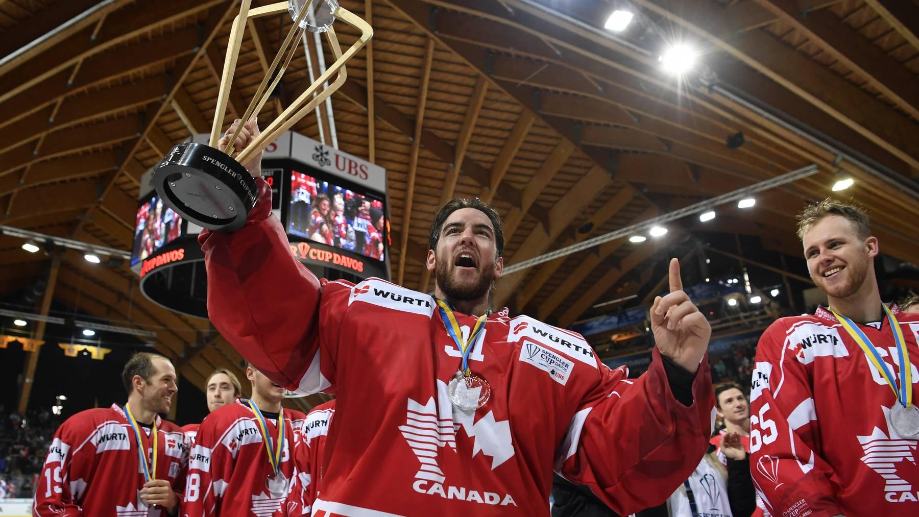 Team Canada gewinnt den Spengler Cup 2017