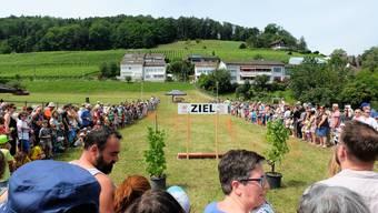 Das Säulirennen war der grosse Programm-Höhepunkt am letzten Weininger Rebblüetefäscht. das vom 15. bis 17. Juni 2018 stattfand. (Archiv)
