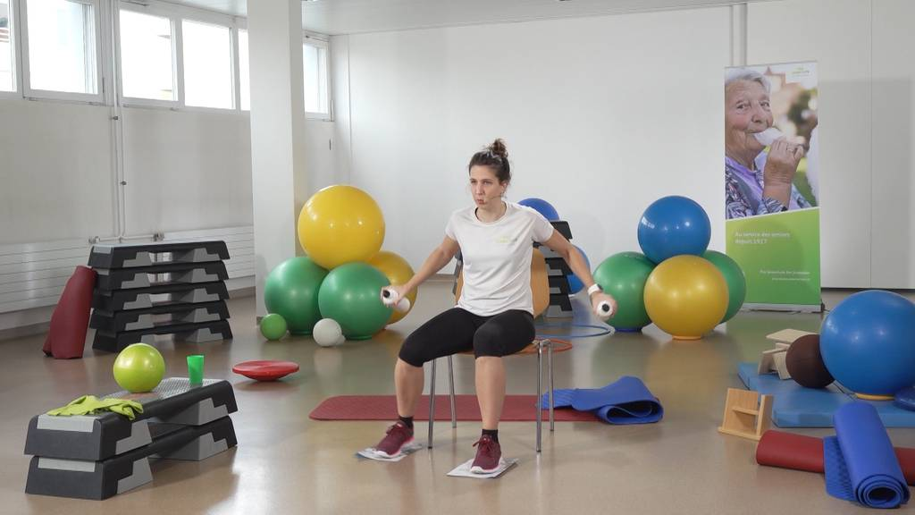 «Gymnastik im Wohnzimmer» vom 23. März 2021