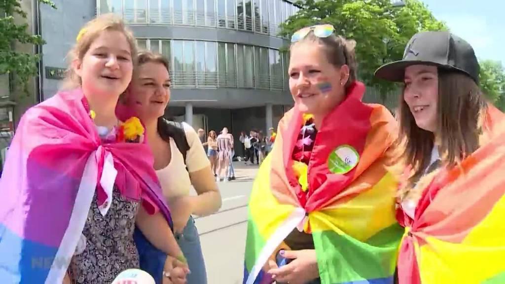 Tausende machen Zürich zur grossen Gay-Party