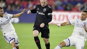 Noch immer dynamisch und torgefährlich: Washingtons Stürmerstar Wayne Rooney