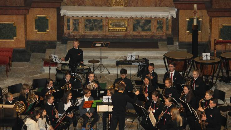 die Jugendmusik mit der Avanti-Band