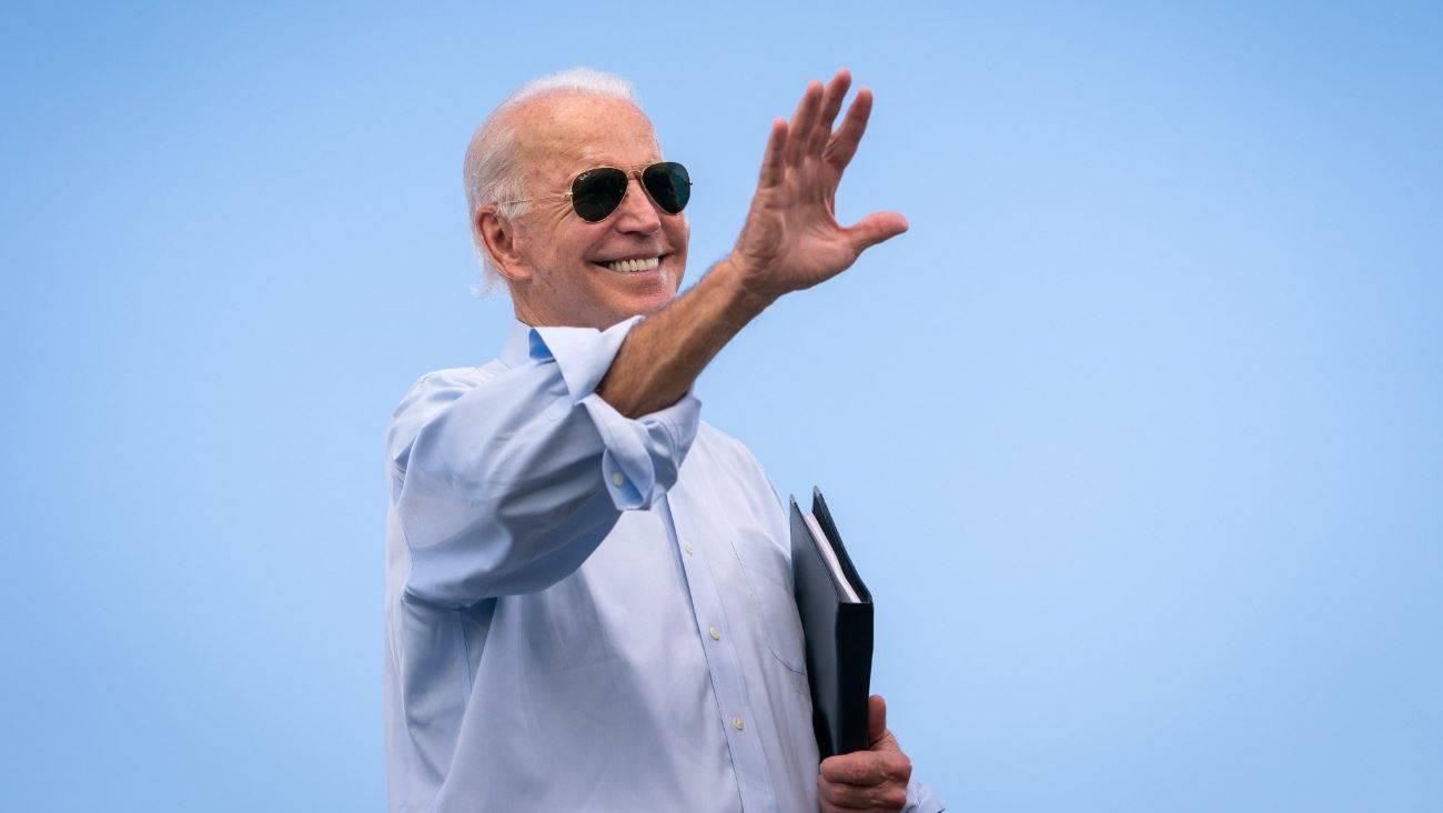 Screenshot - Twitter at Joe Biden