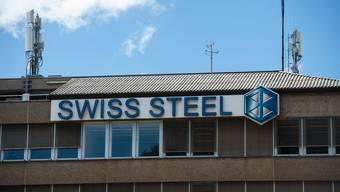 Stahlwerk von Swiss Steel in Emmenbrücke LU.