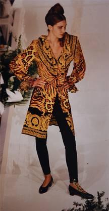 Die 90er standen im Zeichen von Versace.