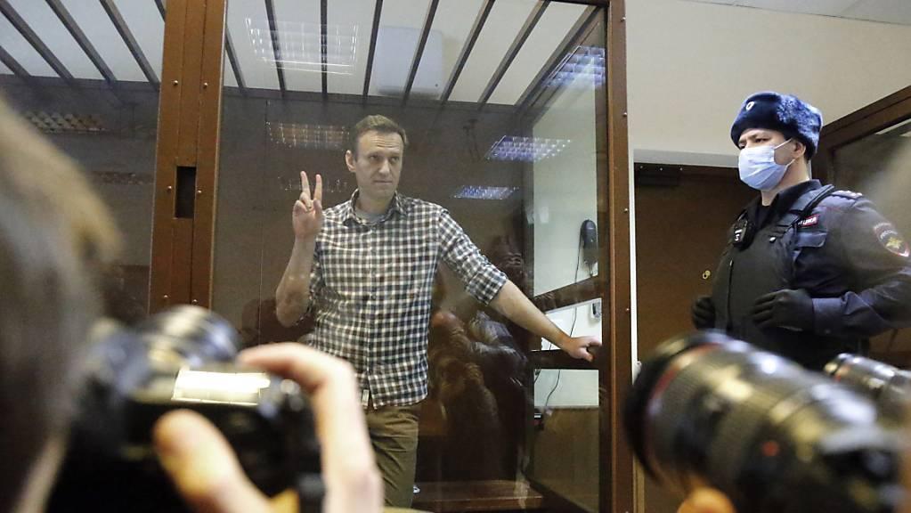 Im Fall Nawalny fordert die EU seit nunmehr rund drei Wochen erfolglos die Freilassung des Kremlkritikers.