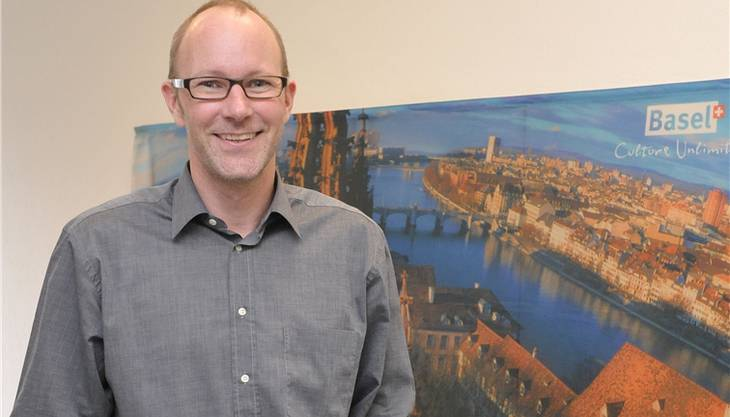 Daniel Egloff, Direktor Basel Tourismus