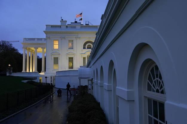 Dahin will Donald Trump 2024 zurück: Das Weisse Haus in Washington.