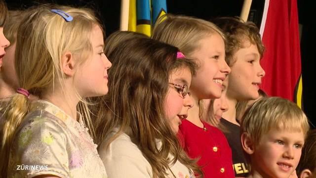 Kinder singen für King Küng