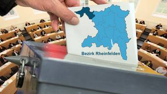 Wahlen Bezirk Rheinfelden